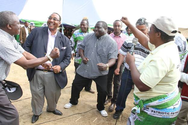 Solwezi Ministers dancing