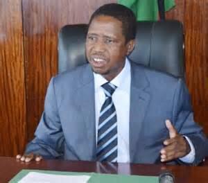Patriotic Front Secretary General Edgar Lungu