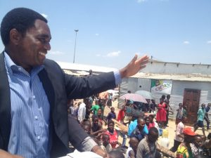 HH arriving in Solwezi