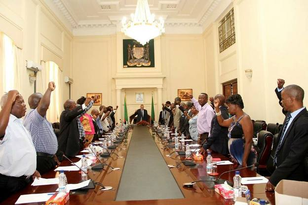 MCC meeting at State House