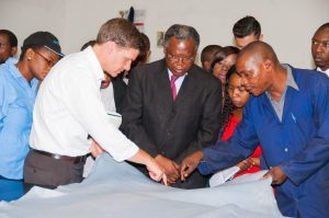 Pic 1 Ministry of Commerce, Trade and Industry Permanent Secretary Siazo...
