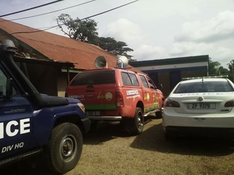 GBM's vehicle is impounded at Kasama Police