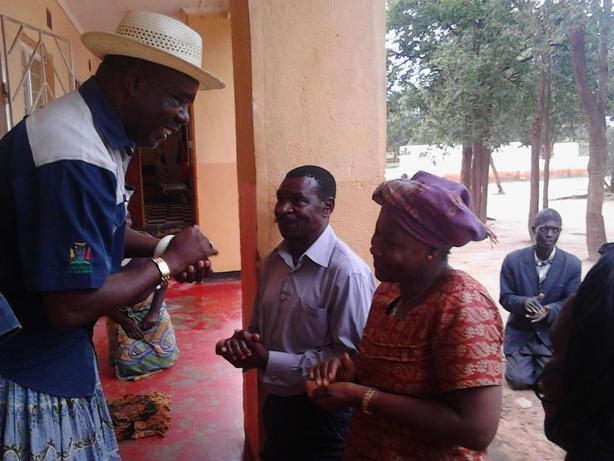Nawakwi greets Chief Mumena