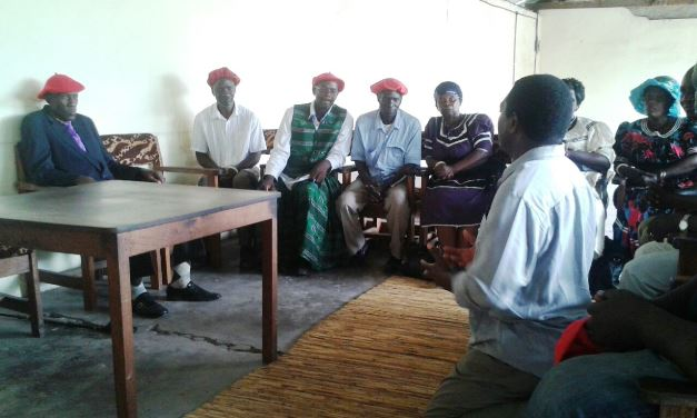 HH meeting Traditional Leadership