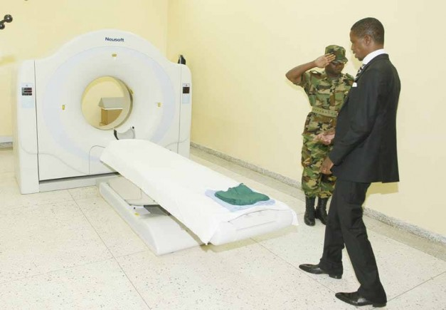 President Edgar Chagwa Lungu arrives at Maina Soko Military Hospital for medical examination on Wednesday,January 28,2015