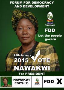 Nawakwi poster