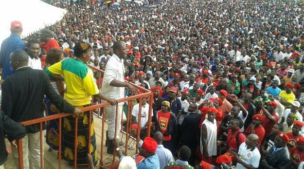 PF Defectors at UPND Rally Mandevu
