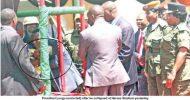 President Lungu collapses