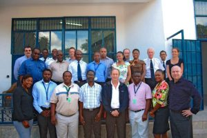 Proflight Zambia management and staff during their IOSA training worksho...