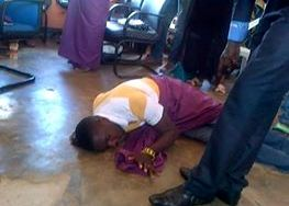 Sungaman during prayers