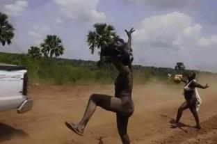 Women protest in Uganda