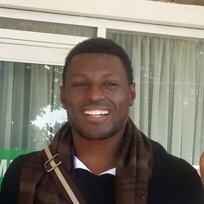 Namibia coach Ronnie Kanalelo