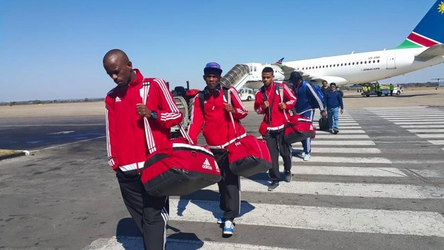 Namibia on arrival