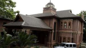 Oscar Pistorius's uncle's house where he will be under house arrest