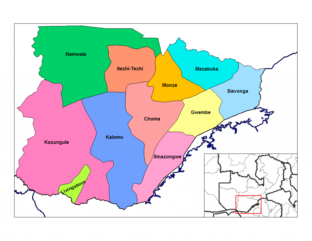 21 Facts about Southern Province in Zambia