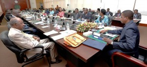 Lungu chairs cabinet meeting with deputy ministers in attendance