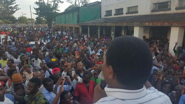 HH addressing Luanshya residents
