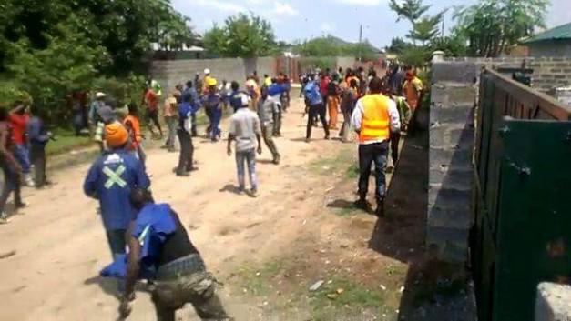 Chimwemwe residents stone UPND Members