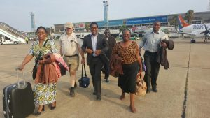 HH with former First Lady Maureen Mwanawasa