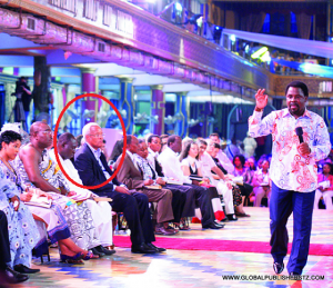 TB Joshua Preaching With Edward Lowassa In Attendance 2012