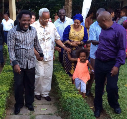 TB Joshua With Lowassa Thurs 05.11.15
