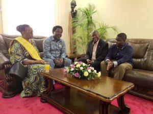 TB Joshua With President Elect John Magufuli And Family