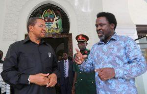 TB Joshua With President Jakaya Kikwete