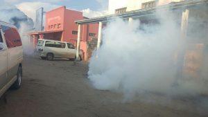 Teargas in Luanshya