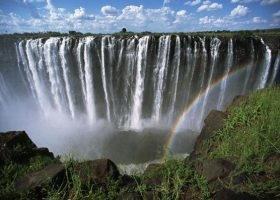 Victoria Falls water level rises by 57 per cent