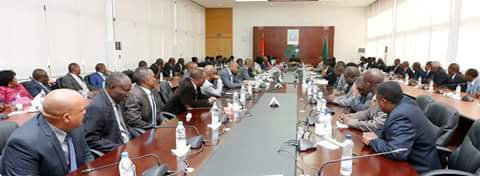 Cabinet meeting with Deputy Ministers