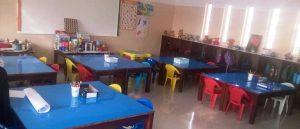 Pre-school class room