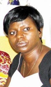 ZNFU President Evelyn Nguleka