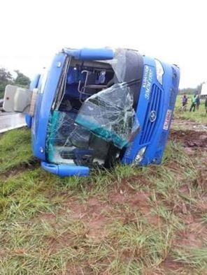 Accident Mazyandu bus