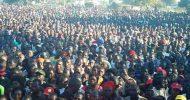 Guy Scott, Miles, Mwaliteta address a UPND rally