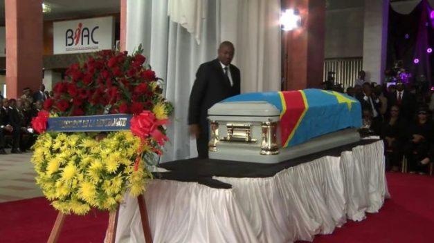 Papa Wemba's Casket