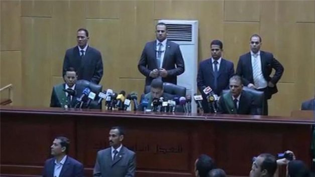 The judgement will either be approved or reduced in June after consultations with Egypt's mufti [Al Jazeera]