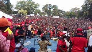 UPND Freedom Park launch rally