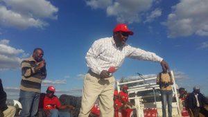 Kabimba launching campaigns