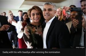 The new Mayor of London