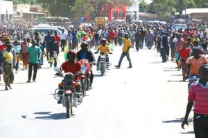 Chama residents welcome HH