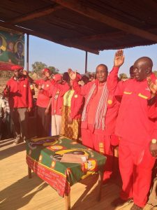 GBM at a campaign rally in Mwense
