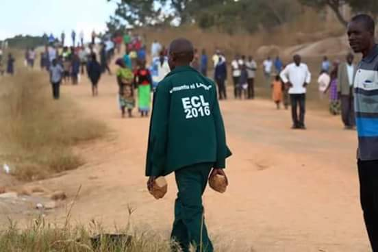 PF Cadre attempting to attack the UPND campaign team in Muchinga province