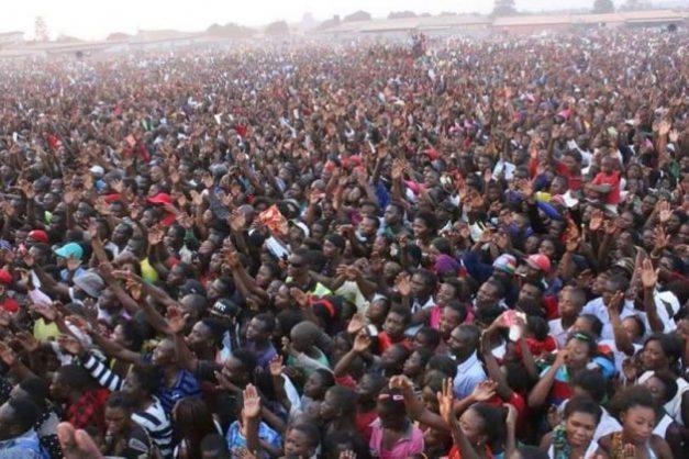 HH's Kitwe rally