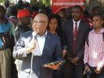 Touching prayer for Zambia