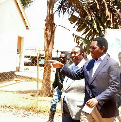 HH with GBM visiting Chimbokaila prison