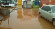 Floods in Lusaka's Chilenje township