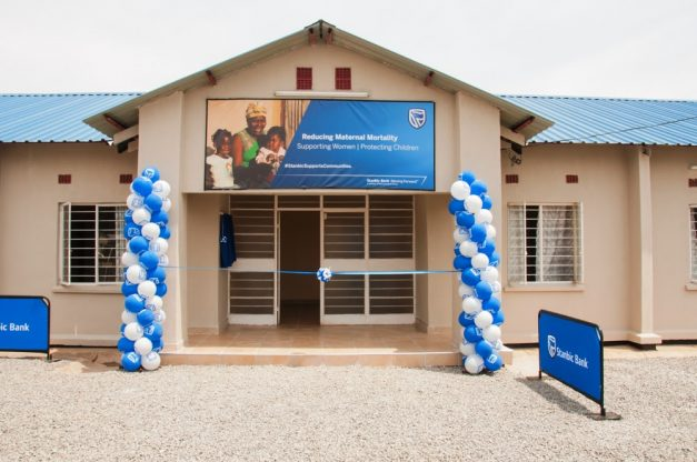 Mazabuka General Hospital has a new mothers' shelter, thanks to Stanbic Bank Zambia.