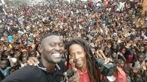 Maiko Zulu with B'Flow