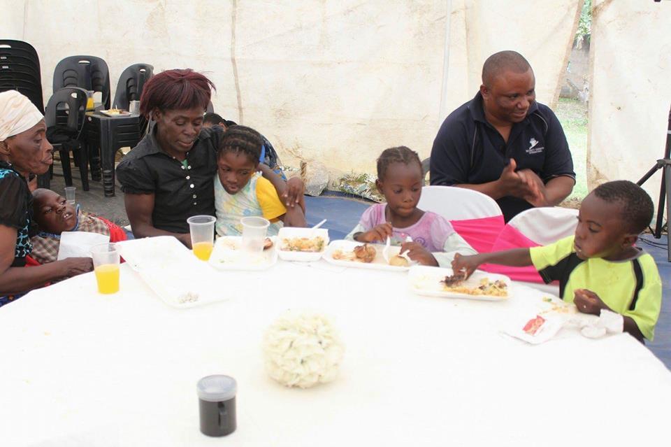 Bushiri feeding vulnerable