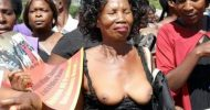 UPND women undress in protest against arrest of their leader
